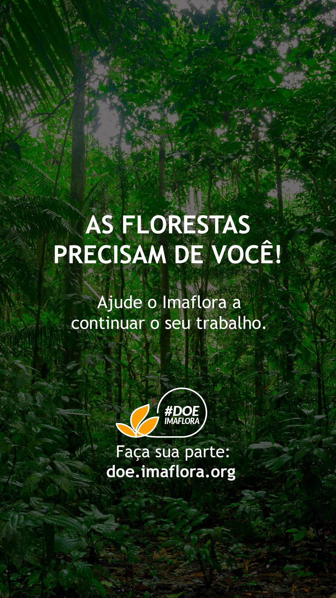 A natureza e o mundo precisam de você! - Imaflora